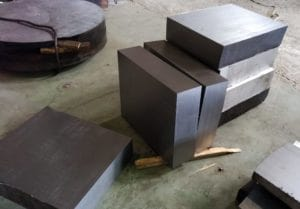 Поковка плита сталь 40х